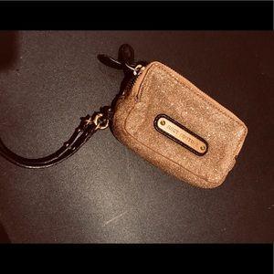Juice couture makeup bag/wristlet
